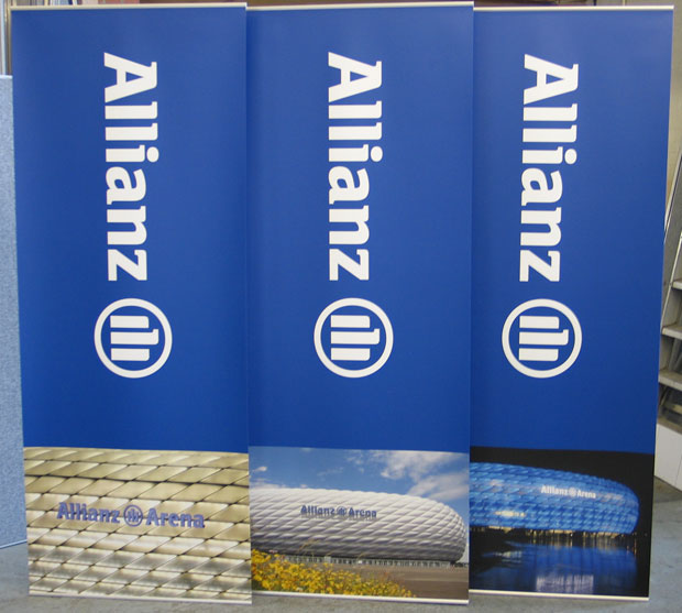 Exhibition Stand Roll Up : Banner stands portable roll up pull up bannerstands exhibition