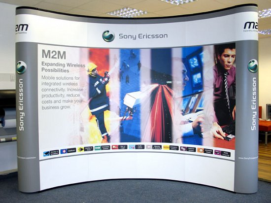 Exhibition Stand Wall Panels : Exhibition stand designers graphic panels pop up
